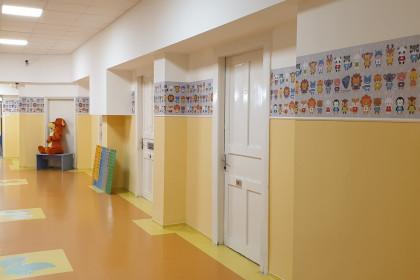 Tűzoltó Utcai Gyermekklinika_mosható tapéta