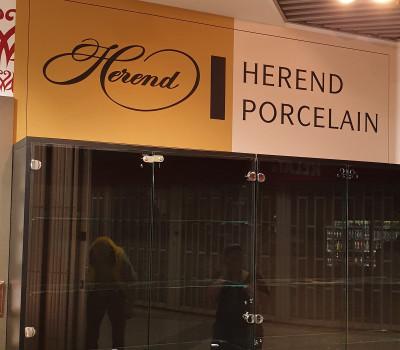 Herend Porcelain / Ferihegy Herend Porcelain / Ferihegy / XXL Textil tapéta