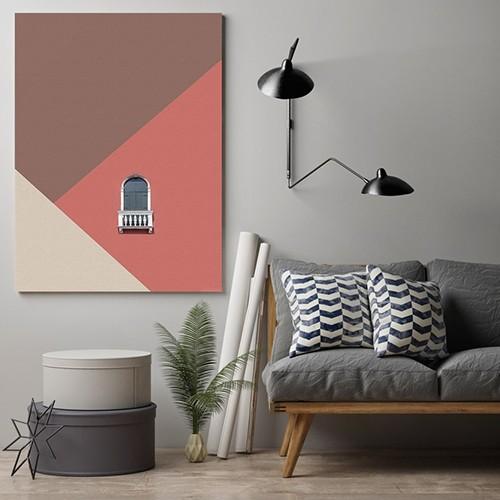 Art minimal vászonkép